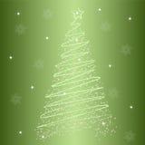 Kerstboom 4 Stock Afbeelding
