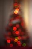 Kerstboom Bokeh Royalty-vrije Stock Fotografie