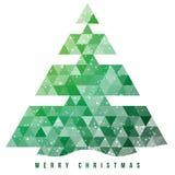 Kerstboom en decoratieachtergrond. Stock Afbeelding