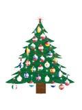 Kerstboom - Europese Unie Stock Afbeelding