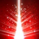 Kerstboom lichte vectorachtergrond Royalty-vrije Stock Afbeelding