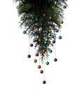 Kerstboom met decoratie Royalty-vrije Stock Foto