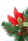 Kerstboom met Engel Royalty-vrije Stock Fotografie