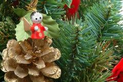 Kerstboom met Engel royalty-vrije stock afbeeldingen