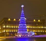 Kerstboom, Moskou Royalty-vrije Stock Fotografie