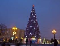 Kerstboom, Moskou Stock Afbeelding