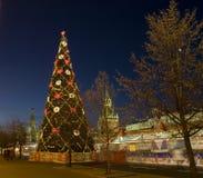 Kerstboom, Moskou Stock Fotografie