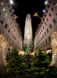 Kerstboom, New York Stock Afbeeldingen