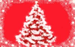 Kerstboom, NewYear, achtergrond, witte boom, sneeuwboom stock foto