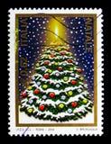 Kerstboom, serie, circa 2004 Stock Afbeelding