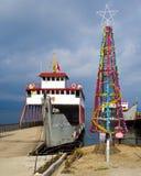 Kerstboom in Tropisch Indonesië Royalty-vrije Stock Foto's