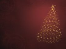 Kerstboom van Lichten stock foto's