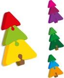 Kerstboom van raadsels Royalty-vrije Stock Foto's