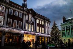 Kerstboom 2 van York royalty-vrije stock foto's
