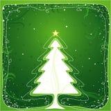 Kerstboom, vector royalty-vrije illustratie
