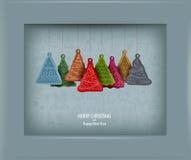 Kerstboom. Vectorillustratie Stock Foto's