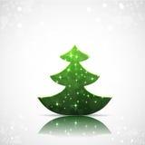 Kerstboomachtergrond. Royalty-vrije Stock Foto's
