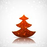 Kerstboomachtergrond Royalty-vrije Stock Foto