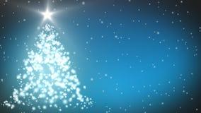 Kerstboomanimatie royalty-vrije illustratie