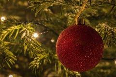 Kerstboombal Stock Afbeelding