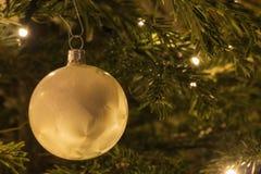 Kerstboombal Stock Foto