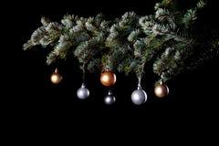 Kerstboomballen Royalty-vrije Stock Fotografie