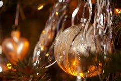 Kerstboomdecoratie Royalty-vrije Stock Foto's