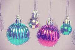 Kerstboomdecoratie op wit De illustratie van de vakantie Royalty-vrije Stock Foto