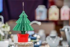 Kerstboomdocument ambacht voor decoratie stock afbeeldingen