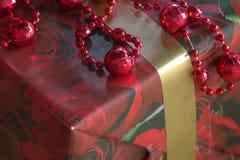 Kerstboommacro Royalty-vrije Stock Afbeeldingen
