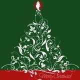 Kerstboomontwerp Stock Afbeelding