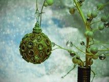 Kerstboomspeelgoed royalty-vrije stock afbeeldingen