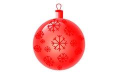 Kerstboomstuk speelgoed Royalty-vrije Stock Afbeeldingen