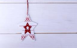 Kerstboomstuk speelgoed Royalty-vrije Stock Fotografie