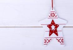 Kerstboomstuk speelgoed Stock Afbeeldingen