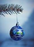 Kerstboomtak Royalty-vrije Stock Foto's