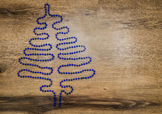 Kerstboomvorm Royalty-vrije Stock Foto