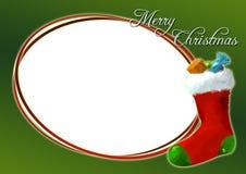 Kerstkaart 01 Stock Afbeeldingen