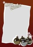 Kerstkaart 11 Stock Afbeeldingen