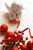 Kerstkaart Stock Fotografie