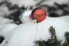 Kerstkaart stock foto