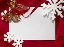 Kerstkaart Stock Afbeeldingen