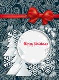 Kerstkaart Royalty-vrije Stock Afbeeldingen