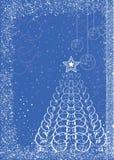 Kerstkaart. Stock Afbeelding