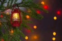 Kerstkaart, achtergrond Royalty-vrije Stock Foto