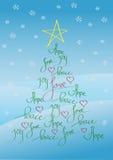 Kerstkaart of achtergrond vector illustratie