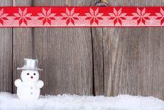 Kerstkaart met Exemplaarruimte Royalty-vrije Stock Foto's