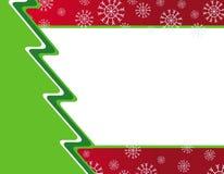 Kerstkaart of uitnodiging Royalty-vrije Stock Fotografie
