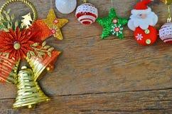 Kerstkaart voor beste vrienden Stock Foto's
