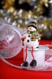 Kerstkaart voor wensen Royalty-vrije Stock Afbeeldingen